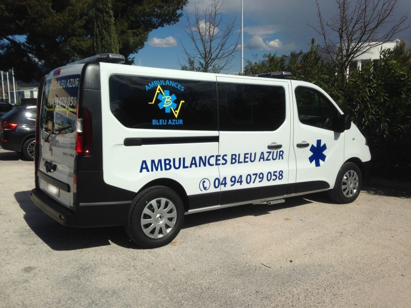 stickers et signalisation ambulance toulon